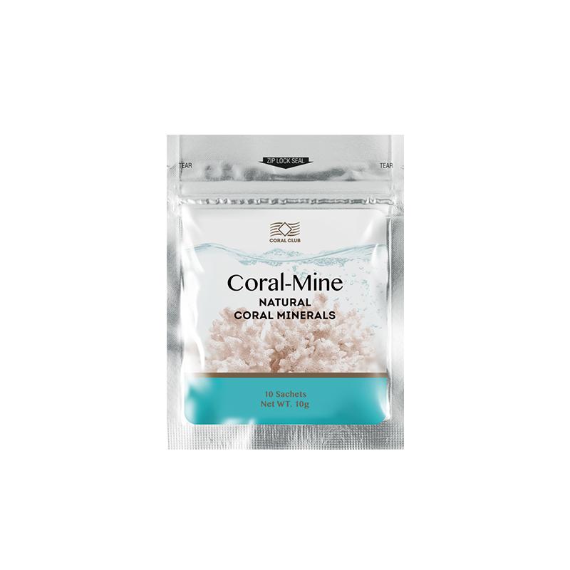 Coral-Mine - korallivesi, elus, aluseline vesi - 10 x 1g = 1pakk - toidulisand