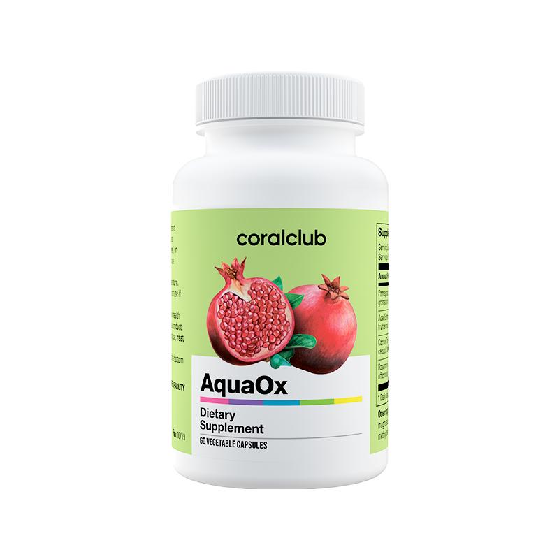 AquaOx - antioksüdantide kompleks, süda, veresooned, immuunsus, energia 60tbl - toidulisand