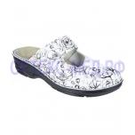 Berkemann Heliane - naiste ortopeediline jalats - valge/kirju - 03457-013