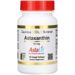 Astaxanthin - astaksantiin, aju, silmad, nahk, süda ja liigeste tervis - 30tbl - toidulisand