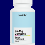 Coral Club Ca-Mg Complex - parandab südame, veresoonte, närvisüsteemi, luustiku, lihaskonna funktsiooni - 90tbl - toidulisand