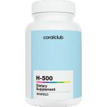 H-500 - võimas antioksüdant, ennetab vabade radikaalide kahjustavat toimet, soodustab rakuenergia tootmist, suurendab aktiivsust, vastupidavust, kaitseb enneaegse vananemise eest - 120tbl - toidulisand