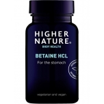 Higher Nature Betaiin HCl 90tbl - toidulisand