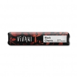 Vivani Organic Black Cherry  - mõrushokolaadibatoon kirsiga - 35g