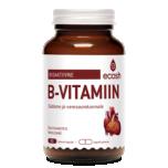 Ecosh B-vitamiin kompleks südamele - bioaktiivne + 100% energiat 90tbl - toidulisand