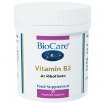 BioCare Vitamiin B2 ehk Riboflaviin - nahk, energia, närvisüsteem - 30tbl - toidulisand