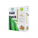 Goldrelax Foot Patch - Detox jalatalla plaastrid - puhastavad plaastrid, kukekannus, soolade ladestused - 10tk