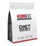 ICONFIT Diet WHEY Protein - kõrge kiudainesisaldusega proteiin - 1kg - toidulisand