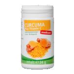 Medicura Curcuma + Vitamin C - Kurkum + C Vitamiin, maks, seedimine, kolesterool - 60tbl - toidulisand
