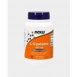 Now Foods L Cysteine - L-tsüsteiin 500mg - keratiin, nahk, juuksed, küüned - 100tbl - toidulisand