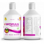 Swedish Nutra Multivitamiin naistele - 500ml - toidulisand