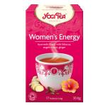 Yogi Tea Women's Energy - Naiseliku energia tee 17tk