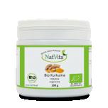 NatVita Bio Kurkum - liigesed, moodustised, seedimine, jahvatatud 100g