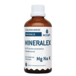 Ecosh Mineralex - süvaookeanivee mineraalid, elundid, koed, luud, pH tase, viirused- 100ml - toidulisand