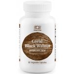 Black Walnut - Must pähkel, sooleparasiidid, hingamisteed, ärritunud nahk - 90tbl - toidulisand