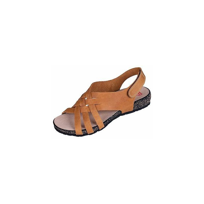 Berkemann Amari - naiste ortopeediline jalats - helepruun (ocra leder) - 02001-513