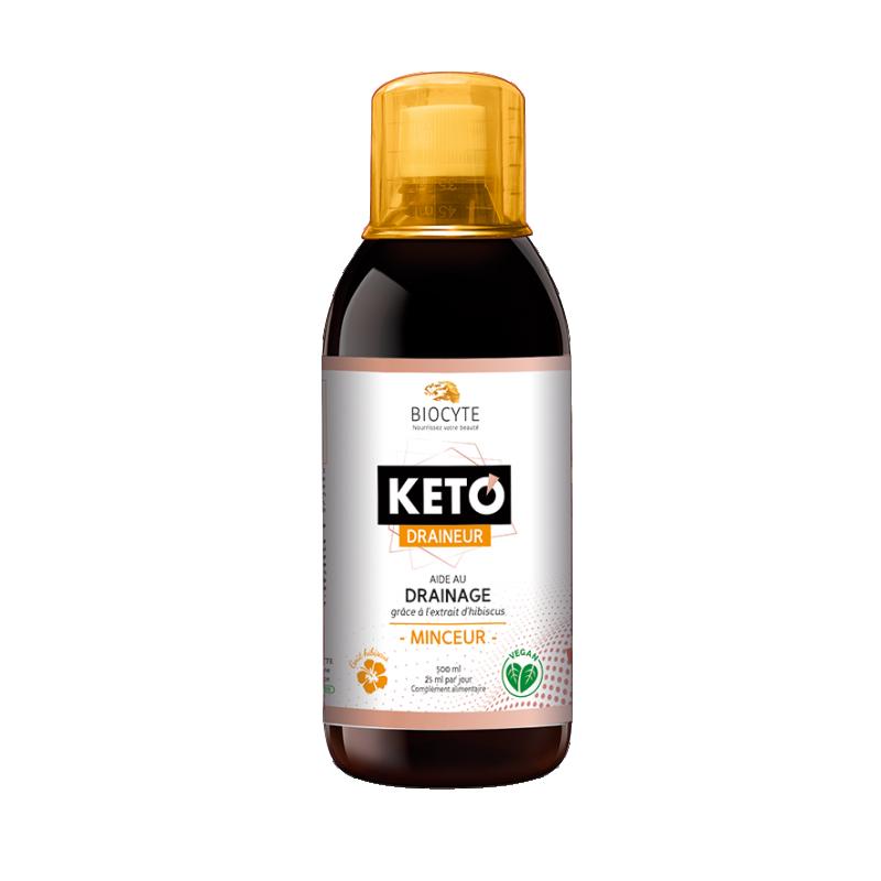 Biocyte KETO draineur - kaalualandusjook, vett väljutav ja tselluliiti vähendav - 500ml - toidulisand