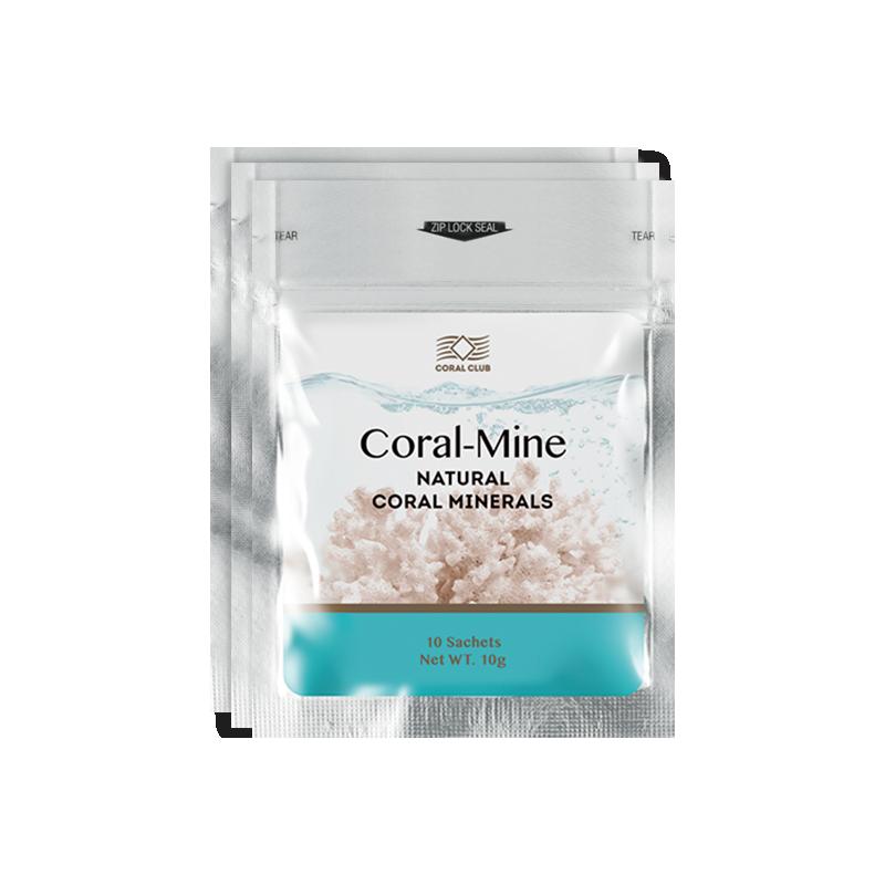 Coral-Mine - korallivesi, elus, aluseline vesi - 30 x 1g = 3 pakki - toidulisand