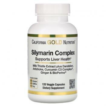 California Gold Nutrition Silymarin Complex 120tbl.jpg