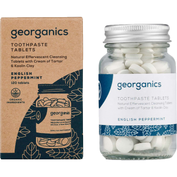 Georganics toothpaste tablets english peppermint.png