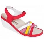 Berkemann Adina - naiste ortopeediline jalats - punase kirju