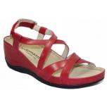 Berkemann Coletta - naiste ortopeediline jalats - punane