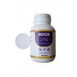 Boor - Boron, boor, luustik, mineraalide omastamine, pärmseen 3mg - 250tbl - toidulisand