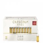 CRESCINA HFSC Transdermic Technology 1300 For Advanced Thinning Hair WOMAN - soodustab juuste füsioloogilist juuste kasvu - 20x3,5ml