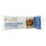 Wild Bluberry & Almond Chewy Granola Bar - metsmustika ja mandli granola batoonike - 40g