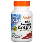 Doctor's Best High Absorption CoQ10 + BioPerine 100mg - toidab, kaitseb keha kõrge energiaga elundeid, südant ja veresooni - 120tbl - toidulisand