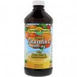 Dynamic Health Liquid Vitamin C with Rose Hips & Bioflavinoids 1000mg - vedel C vitamiin kibuvitsaga ja bioflavinoididega - 473ml - toidulisand