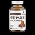 Ecosh Must pässik + must küüslauk - antioksüdadid,ensüümid, immuunsus,viirused,soolestik, parasiidid- 90tbl - toidulisand