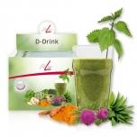Fitline D-Drink - puhastus, rohejook, seleen, tsink, kroom, koliin, maks, ainevahetus - 14x7 g - Toidulisand