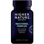 Higher Nature Red Sterol Complex - punaste steroolide kompleks, kolesterooli alandaja - 90tbl - toidulisand