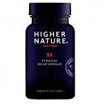 Higher Nature SX for Great Sex! - arginiiniga meestele ja naistele, seksuaalsus, energia - 90tbl - toidulisand