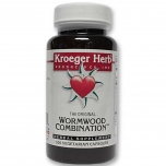 Kroeger Herb Wormwood Combination - koirohi, parasiidid, viirused, soolestik - 100tbl - toidulisand
