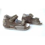 Protetika - laste ortopeediline jalats - pruun