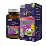 Natures Aid Kidz Pro 5 - piimahappebakterite pulber lastele - 90g - toidulisand