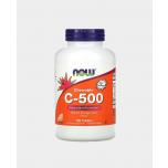 Now Foods C-500 - näritav C-vitamiin, apelsinimaitseline, energia, viirused, vererõhk - 100tbl - toidulisand