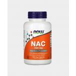 Now Foods NAC - N-atsetüül ja L-tsüsteiin, detox, raku puhastus, glutatioon, keemiaravi, covid, koormus - 100tbl - toidulisand