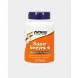 Now Foods Super Enzymes - super ensüümid, seedeensüümid, seedimine - 90tbl - toidulisand