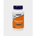 Now Foods Taurine - tauriin, aminohape, aju, silmade, südame ja lihaste heaks - 100tbl - toidulisand