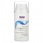Now Foods Natural Progesterone - looduslik progesteroon, tasakaalustav nahakreem - 85g