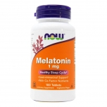 Now Foods Melatoniin - parem uni 1mg - 100tbl - toidulisand