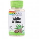 Solaray White Willow - 400mg, aspiriin, valge pajukoore ekstrakt, pajukooreekstrakt, ülekoormus - 100tbl - toidulisand