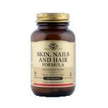 Solgar Skin, Nails and Hair - vitamiinide, mineraalainete ja aminohapete (lüsiin ja proliin) kombinatsiooni juuste, küünte ja naha heaoluks - 60tbl - toidulisand