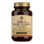 Solgar Vitamin C 1000 mg - C vitamiin, kollageeni tootmine, energia, liigesed, immuunsus - 30tbl - toidulisand