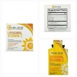 Sunlipid Liposomal Vitamin C - Liposoomne C vitamiin, energia, viirused, liigesed - 1tk (kotike) - toidulisand