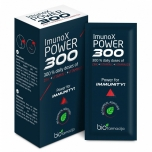 Biofarmacija Imunox Power 300 - tsink, C, D3, immuunsus, luud, juuksed, hambad - 14x1,5g - toidulisand