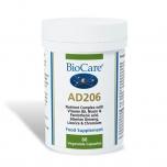 BioCare AD206 - stress, väsimus, ženšenni ja ravimtaimedega - 60tbl - toidulisand